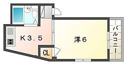 TOMOEマンション[2階]の間取り