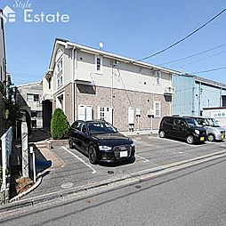 愛知県名古屋市緑区鳴海町字母呂後の賃貸アパートの外観