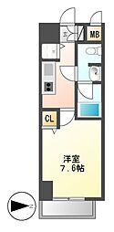 カレント新栄[10階]の間取り
