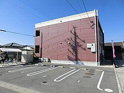 愛知県稲沢市平野町1丁目の賃貸アパートの外観