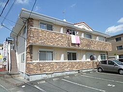 静岡県浜松市浜北区沼の賃貸アパートの外観