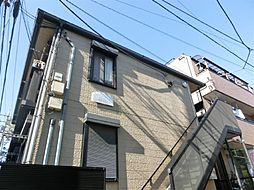 東京都練馬区豊玉中の賃貸アパートの外観