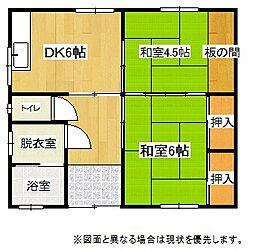 中里アパート[2階]の間取り