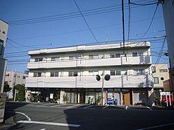 岡山県岡山市北区西古松二丁目の賃貸マンションの外観