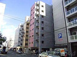 北海道札幌市中央区南一条西18の賃貸マンションの外観
