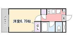 Zephyr S[203号室]の間取り