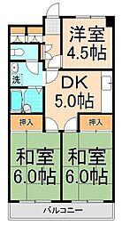 COM坂野[3階]の間取り