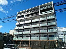 岡山県岡山市北区天瀬の賃貸マンションの外観