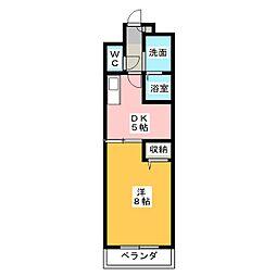 TresEnVogue[3階]の間取り