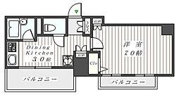 アーバイル神田EAST[9階]の間取り