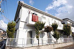 埼玉県越谷市大沢の賃貸アパートの外観
