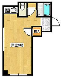 大川ビル302[302号室]の間取り