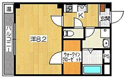 東沂荘[2階]の間取り