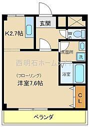 エターニティー[2階]の間取り