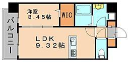 アーバン3[3階]の間取り