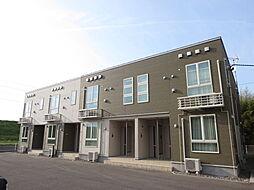 新潟県新潟市北区新崎2丁目の賃貸アパートの外観