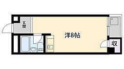 カルム今津[510号室]の間取り