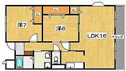 パークウィンド[2階]の間取り