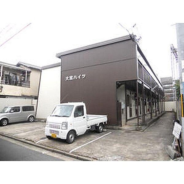 大宮ハイツ 2階の賃貸【奈良県 / 奈良市】