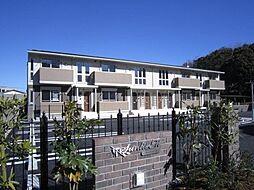 静岡県沼津市大岡の賃貸アパートの外観