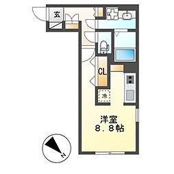 WELL COURT KANDA[1階]の間取り