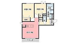 仮称)西宮市石刎町D-room[3階]の間取り
