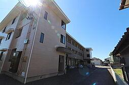 新潟県新潟市西区上新栄町の賃貸アパートの外観