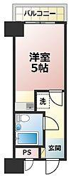 ライオンズマンション新大阪第3.[3階]の間取り