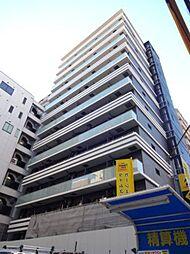 大阪府大阪市中央区釣鐘町2丁目の賃貸マンションの外観