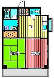 永瀬ビル[2階]の間取り