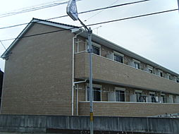 愛知県知多郡美浜町大字奥田字石畑の賃貸アパートの外観