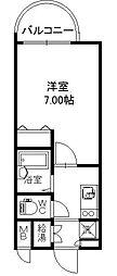 チサンマンション第二天神[9階]の間取り