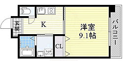 REBANGA阿倍野AP[7階]の間取り