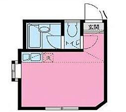 根岸ナターリア(契約金19200円で入居可能)[105号室号室]の間取り
