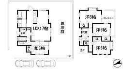 [一戸建] 兵庫県宝塚市青葉台2丁目 の賃貸【/】の間取り