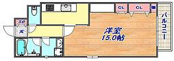 レジオン・ドヌール[5階]の間取り