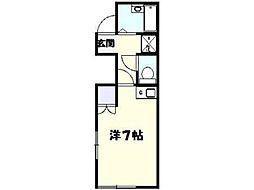 ミントハウス[2階]の間取り