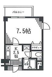 フォーレストビル[7階]の間取り
