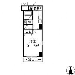 サイプレス小阪駅前[305号室号室]の間取り