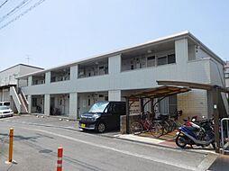 大阪府摂津市一津屋1丁目の賃貸アパートの外観