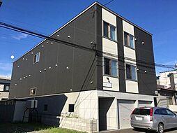 北海道札幌市手稲区曙一条1丁目の賃貸アパートの外観
