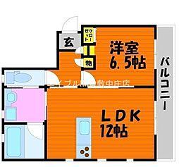 民ちゃん家[2階]の間取り