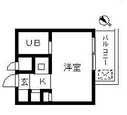 ウィンベルソロ朝霞第1[305号室]の間取り