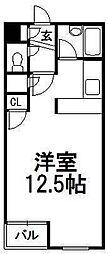 北海道札幌市中央区北五条西25丁目の賃貸マンションの間取り