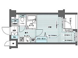 東京都杉並区方南1丁目の賃貸マンションの間取り