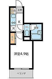KWプレイス東小金井 4月契約キャンペーン[207号室]の間取り