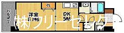 福岡県福岡市博多区上牟田1丁目の賃貸マンションの間取り