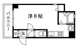 フェニックス堀川II[2階]の間取り