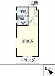 270 apartment1[4階]の間取り