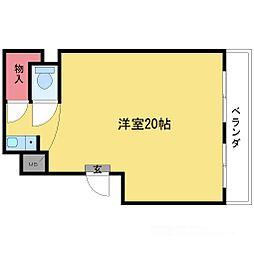 新大阪スカイハイツ[5階]の間取り